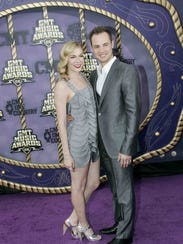 LeAnn Rimes with then-husband Dean Sheremet at the