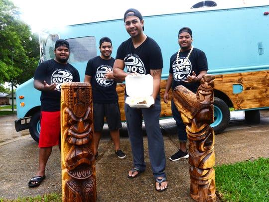 Ono's Traditional Hawaiian Cuisine food truck owner