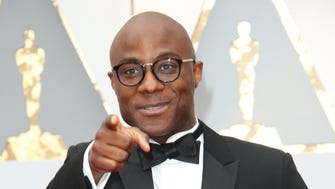 'Moonlight' director Barry Jenkins arrives at the 89th Academy Awards at Dolby Theatre.