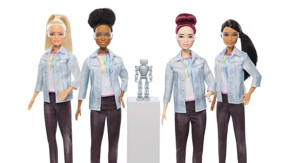 "Barbie has released a new ""Robotics Engineer Barbie,"