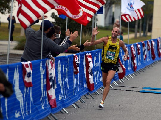 The 13th annual Pensacola Marathon is set for Sunday beginning at  Veteran's Memorial Park in downtown Pensacola.