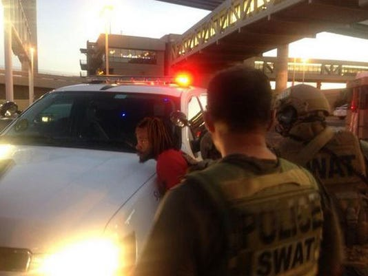 sky harbor arrested