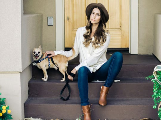 Lauren Garcia said the key to becoming a social influencer is to find a niche like she did. She started a Dog of the Week post to help dogs find new homes.