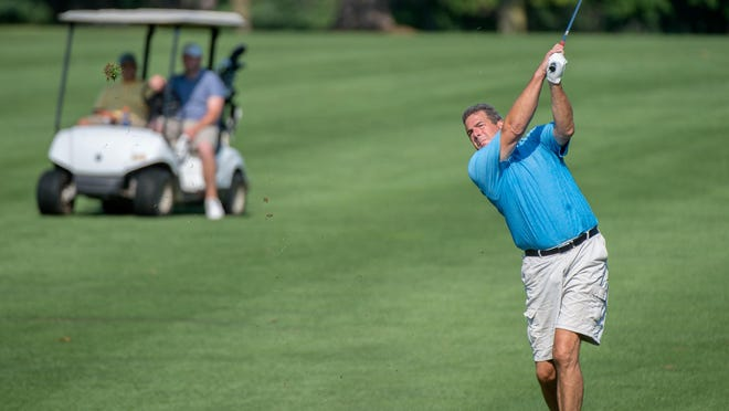 Rick LeHew shot a 66 to earn medalist honors for the 2020 Peoria Men's City golf tournament.