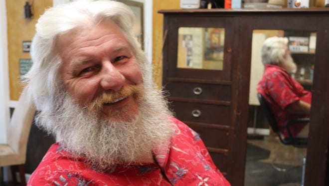 Local voice personality Jim Elliot takes on a new role this holiday season as Santa Claus.
