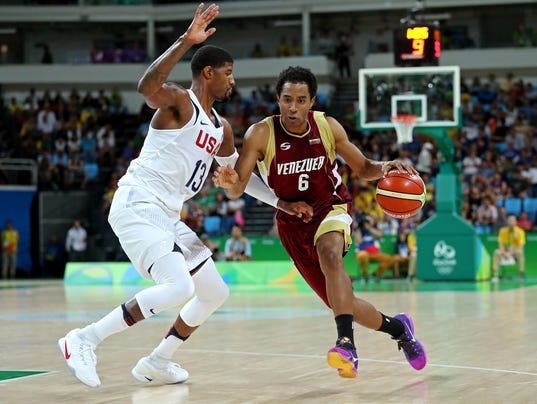 Team USA's Paul George vows to 'become friends' with ...