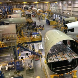 A behind-the-scenes tour of Boeing's 787 factory in South Carolina