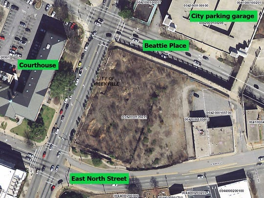 The 1.83-acre Gateway site, located on North Church