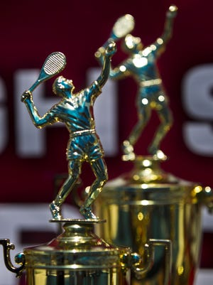 Which teams will take home trophies in the state tennis tournaments this season?