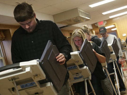 Voters will cast their ballots on new voting machines for the Nov. 5 election. Interested groups and organizations may schedule demonstrations of the new equipment with the Board of Elections.