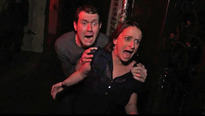 Billy Eichner (Billy on the Street) and former Saturday Night Live alum Rachel Dratch venture into the pop-culture-themed venue haunted house for Funny or Die.