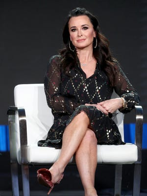 'American Woman' co-executive producer Kyle Richards discussed the Paramount Network series, which is inspired by events of her youth, at the Television Critics Association Monday.