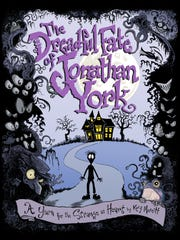 """""""The Dreadful Fate of Jonathan York"""" book cover."""