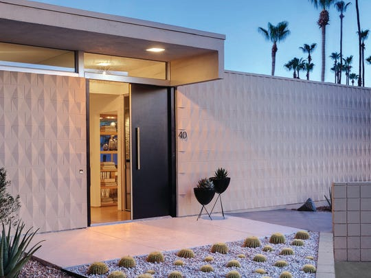 While the elegant geometric design of the landscaping catches your eye, you stand upon an original terrazzo entryway (discovered beneath tile by a craftsman with a discerning eye) and grasp the exquisite handle set upon a sleek black door that opens to reveal a treasure trove of design ideas inside.
