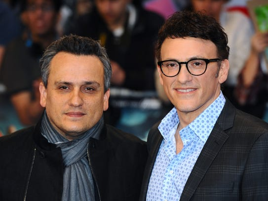Directors Joe Russo and Anthony Russo attend the UK