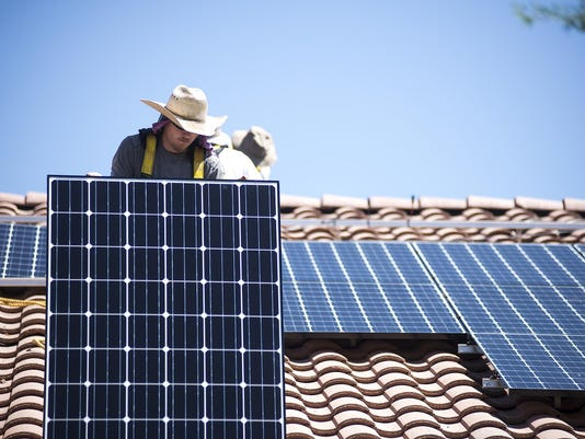 APS request for solar fees
