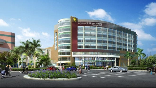 Artist rendering of the new Golisano Children's Hospital of Southwest SPECIAL TO THE NEWS-PRESS