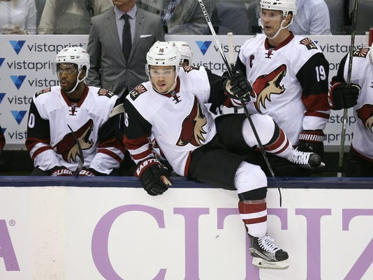 NHL: Arizona Coyotes at Toronto Maple Leafs