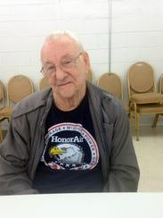 John Partin, 94, is a World War II veteran and the