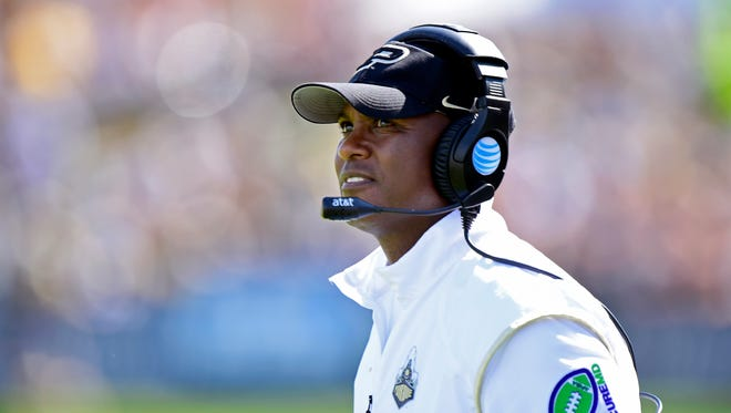 Darrell Hazell and his Boilermakers will have their work cut out for them in 2015.
