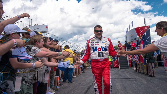 Tony Stewart will say goodbye to NASCAR Sprint Cup racing at the end of this season.