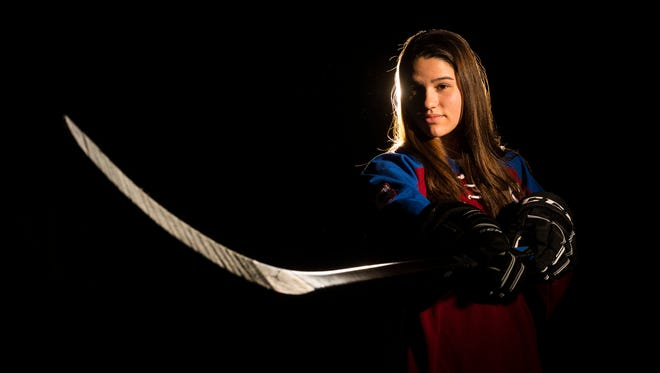Burlington Free Press Miss Hockey: Spaulding's Jess Scott.