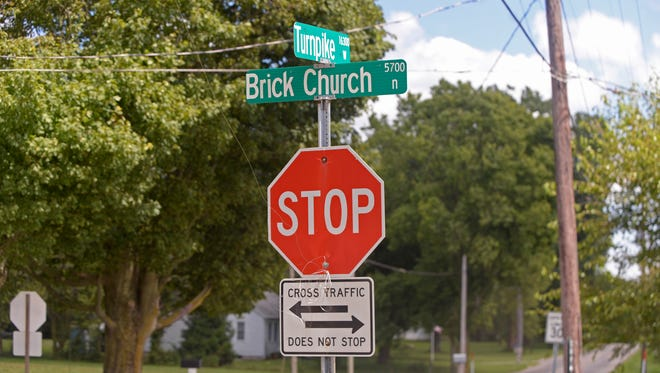 Wayne County officials are looking at what, if anything, can be done to improve safety at the intersection of Brick Church and Turnpike roads west of Hagerstown.