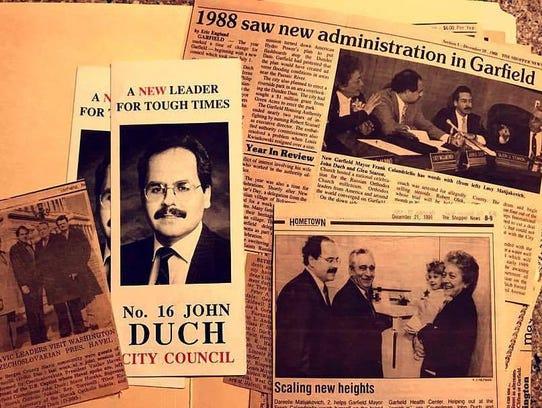 John Duch, 57, was a former Garfield councilman and