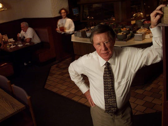 Restaurateur Ray Danner in 2000, shortly after buying Fifth Quarter Steakhouse from Shoney's Inc.