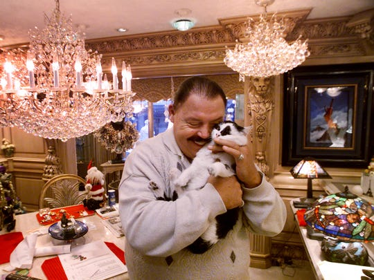 Jerry Hostetler, who died in 2006, shared his 29,000-square-foot house in Indianapolis with his cat.