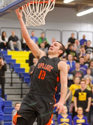 Tanner Morgan, shown playing for Sprague in 2013, has signed a letter of intent to play for Northern Colorado.