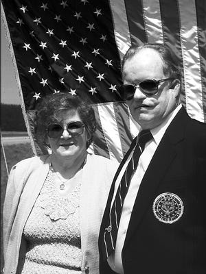 In this 1999 file photo, Einar and Mardelle Ingman are pictured. Einar Ingman, a Medal of Honor recipient, passed away in Tomahawk Sept. 9.