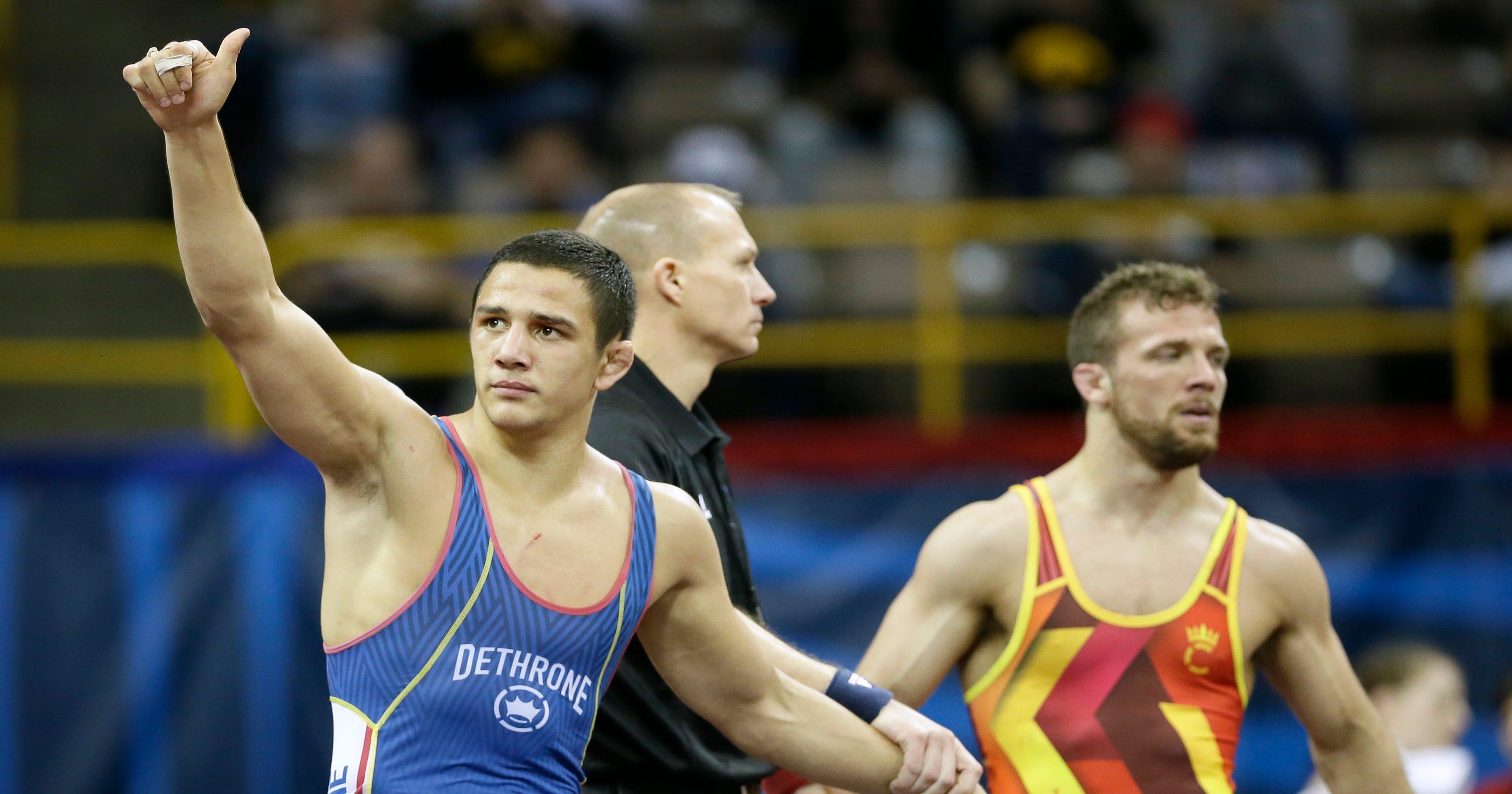 8c7e0233b8dd9a Heartbreak for Hoosiers at Olympic wrestling trials