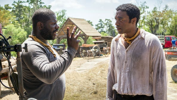 Director Steve McQueen and Chiwetel Ejiofor on the