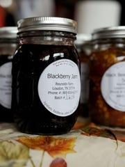 Holiday jams and jellies will be available for purchase during many of Knoxville's holiday markets.