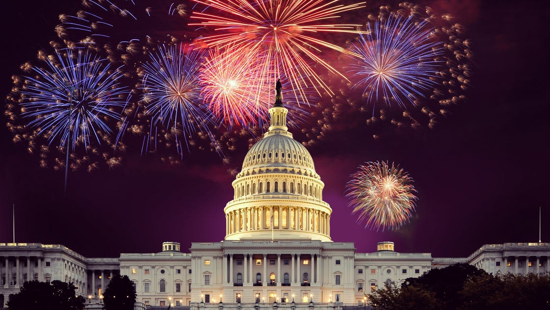 10 of the nation 39 s best 4th of july firework shows for How did the white house get its name
