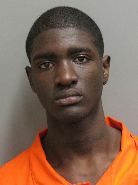 Xavier Taylor is charged with two counts robbery first..jpg