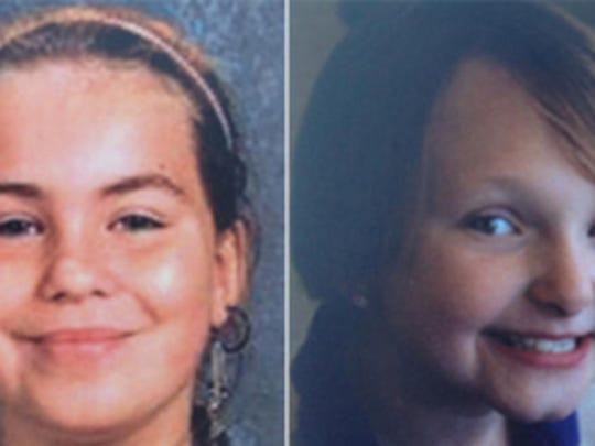 Lyric Cook-Morrissey and Elizabeth Collins went missing July 13, 2012.