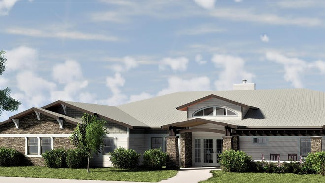 This architectural rendering depicts the skilled-nursing residence that will be built in Spearville. An assisted-living apartment complex also is included in the $5.1 million project.