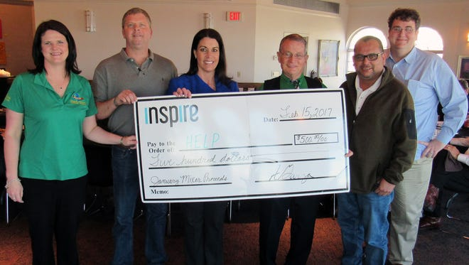 Inspire magazine donated $500 to Hammons Education Leadership Programs.