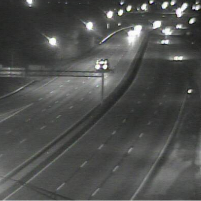 Clear drive on I-77 at Harvard Ave.