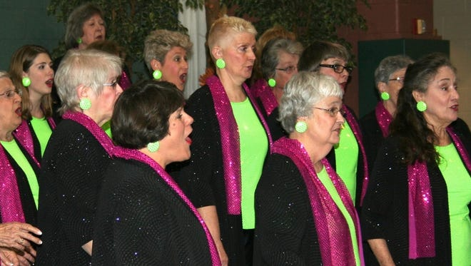 Freedom Valley Chorus is a charter member of Sweet Adelines International.