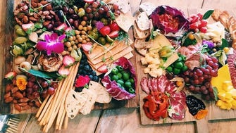 Charcuterie plate from Chef's Market & Takeaway.