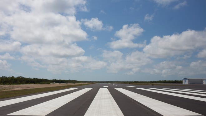 FILE - Following a three-month, $6.2 million renovation, Marco Island Executive Airport re-opened with a brand new runway on April 14, 2014.