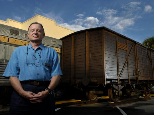 Throughout August, the Holocaust Museum's 1919 boxcar,