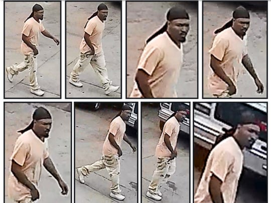 Indianapolis Metropolitan Police are seeking public assistance in identifying and finding this man who they believe may be connected to the April 17, 2017 shooting death of 39-year-old Jimmy McKinnley.
