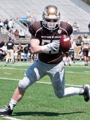 Western Michigan linebacker Kasey Carson.