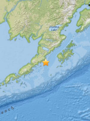 Aleutian Island region earthquake on May 29.