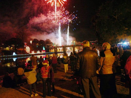 """Natchitoches' 90th annual Christmas Festival is in December, but the thousands of lights downtown come on Nov. 19 for """"Turn On The Holidays!"""""""