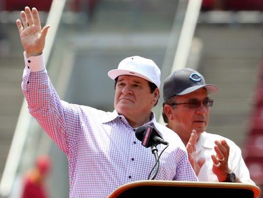 pete rose the hall of Pete rose on reds hof: 'biggest thing ever' pete rose was all about his cincinnati hometown during his reds hall of fame induction speech.